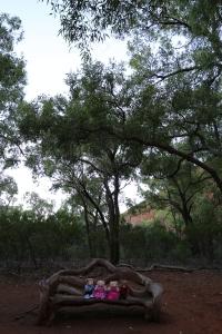 Uluṟu - Looking at Kantju Gorge