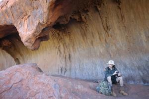 Uluṟu - Kulpi Minymaku (Kitchen Cave)