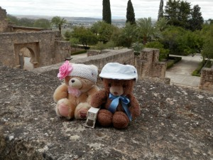 Puffles and Honey BC (Before Clothes :smile: ) Madinat al-Zahra,  Córdoba