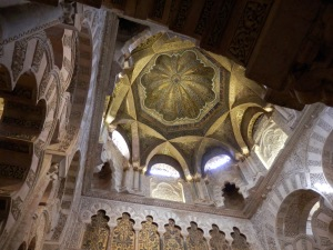 Mihrab dome, Great Mosque of  Córdoba