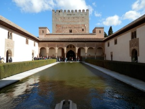 Court of the Myrtles, Alhambra, Granada