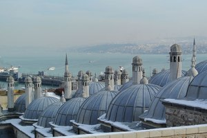 The cascading domes of Süleymaniye Mosque