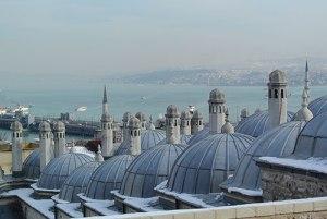 The cascading domes of Süleymaniye Mosque