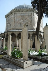 Süleymaniye Mosque - Mausoleum of Süleyman the Magnificent (P. Blessing)