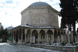 Süleymaniye Mosque - Mausoleum of Süleyman the Magnificent (P. Blessing)