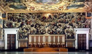 Palazzo Ducale, Sala del Maggior Consiglio, Paradise