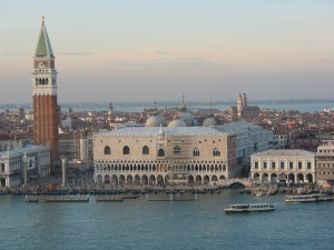 View of Palazzo Ducale from