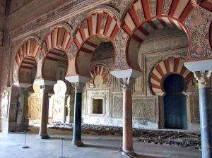 Hall of Abd al-Rahman III (Salon Rico), Madinat al-Zahra, Córdoba