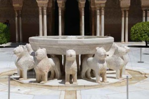 Court of the Lions, Alhambra, Granada