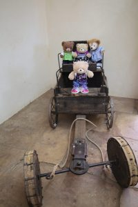 Bear sized buggy :smile: - Alice Springs Telegraph Station