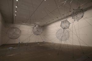 Biosphere Cluster, by Tomás Saraceno