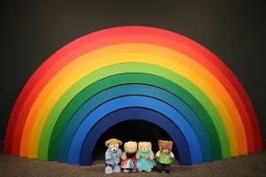 Steiner rainbow 2006, by Emily Floyd