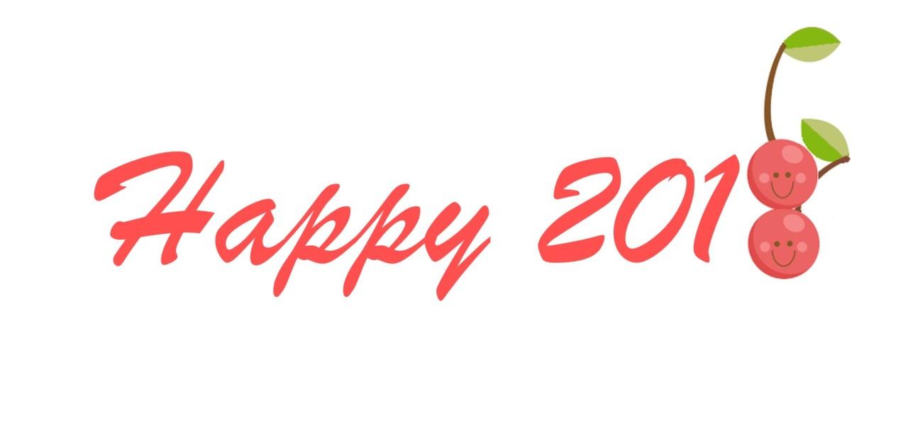 Hello, 2018! 🍒