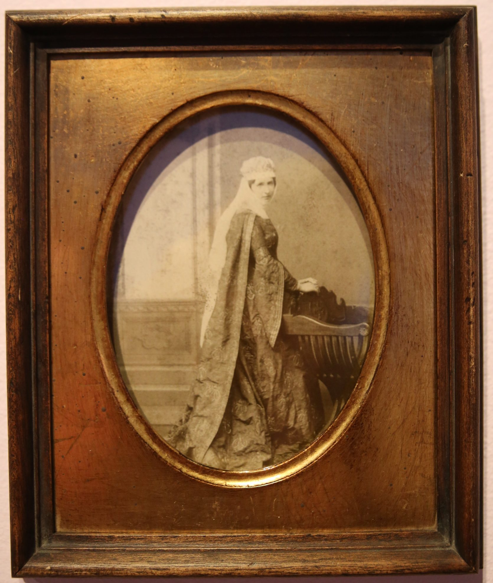aa8c37707c6 ... Portrait of Anna Barberini Corsini wearing her costume for the  celebration of the unveiling of the facade of the Duomo