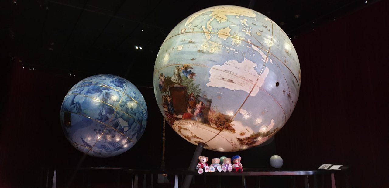 Les Globes duRoi-Soleil